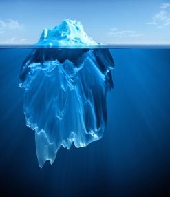 Most of what we seek is hidden in the depths.