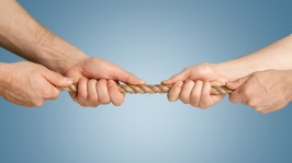 Conflict abounds; how we we learn cooperation?