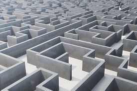 The maze of world politics, especially that generated by Donald Trump.